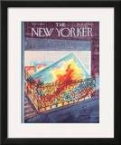 The New Yorker Cover - February 3, 1962 Framed Giclee Print by Anatol Kovarsky