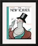 The New Yorker Cover - February 20, 1926 Framed Giclee Print by Rea Irvin
