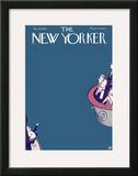 The New Yorker Cover - October 31, 1925 Framed Giclee Print by Julian de Miskey