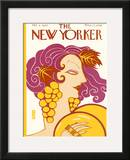 The New Yorker Cover - October 3, 1925 Framed Giclee Print by Barbara Shermund