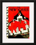 The New Yorker Cover - October 10, 1925 Framed Giclee Print by Ilonka Karasz