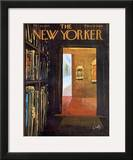 The New Yorker Cover - October 26, 1963 Framed Giclee Print by Arthur Getz
