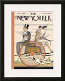 The New Yorker Cover - May 1, 1926 Framed Giclee Print by Ottmar Gaul