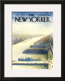 The New Yorker Cover - June 17, 1974 Framed Giclee Print by Arthur Getz