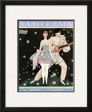 Vanity Fair Cover - August 1928 Framed Giclee Print by Georges Lepape