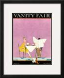 Vanity Fair Cover - February 1921 Framed Giclee Print by A. H. Fish