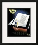 Vanity Fair Cover - May 1931 Framed Giclee Print by Jean Carlu