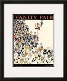 Vanity Fair Cover - October 1919 Framed Giclee Print by Jr., John Held