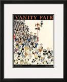 Vanity Fair Cover - October 1919 Framed Giclee Print by Jr., John Held