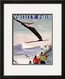 Vanity Fair Cover - January 1936 Framed Giclee Print by  Deyneka