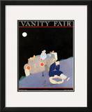 Vanity Fair Cover - January 1922 Framed Giclee Print by A. H. Fish