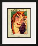 Vanity Fair Cover - February 1922 Framed Giclee Print by  Montagnac
