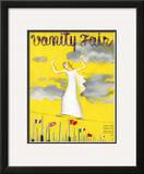 Vanity Fair Cover - June 1935 Framed Giclee Print by  Garretto