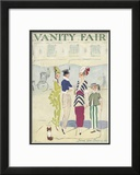 Vanity Fair Cover - June 1914 Framed Giclee Print by Ethel M. Plummer