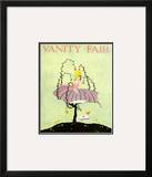 Vanity Fair Cover - September 1916 Framed Giclee Print by L. A. Morris