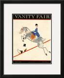 Vanity Fair Cover - April 1920 Framed Giclee Print by Aline Farrelly