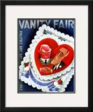 Vanity Fair Cover - February 1933 Framed Giclee Print by Miguel Covarrubias