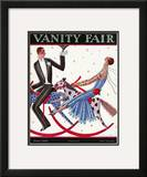 Vanity Fair Cover - June 1925 Framed Giclee Print by Stanley W. Reynolds