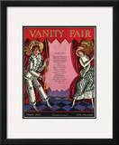 Vanity Fair Cover - March 1925 Framed Giclee Print by Joseph B. Platt