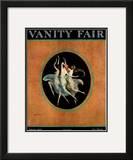 Vanity Fair Cover - September 1920 Framed Giclee Print by Warren Davis