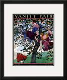 Vanity Fair Cover - July 1924 Framed Giclee Print by Pierre Brissaud