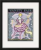 Vanity Fair Cover - July 1925 Framed Giclee Print by O'Kane Conwell
