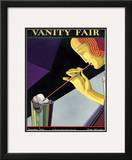 Vanity Fair Cover - December 1926 Framed Giclee Print by Pierre L. Rigal