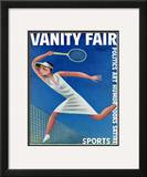 Vanity Fair Cover - August 1932 Framed Giclee Print by Miguel Covarrubias