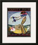 Vanity Fair Cover - July 1923 Framed Giclee Print by Joseph B. Platt