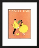 Vanity Fair Cover - April 1916 Framed Giclee Print by L. A. Morris