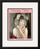 Vanity Fair Cover - May 1929 Framed Giclee Print by Marie Laurencin