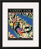 Vanity Fair Cover - December 1927 Framed Giclee Print by A. H. Fish