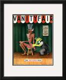 Vanity Fair Cover - October 1934 Framed Giclee Print by  Garretto