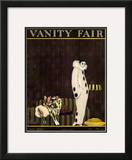 Vanity Fair Cover - July 1920 Framed Giclee Print by William Bolin