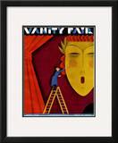 Vanity Fair Cover - April 1930 Framed Giclee Print by  Maurer