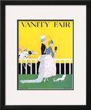Vanity Fair Cover - August 1916 Framed Giclee Print by Ethel M. Plummer