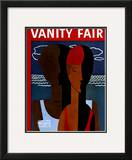 Vanity Fair Cover - June 1931 Framed Giclee Print by  Wadsworth