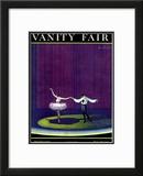 Vanity Fair Cover - December 1920 Framed Giclee Print by William Bolin