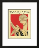 Vanity Fair Cover - June 1926 Framed Giclee Print by Jacques Darcy
