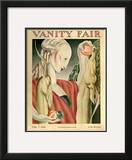 Vanity Fair Cover - May 1928 Framed Giclee Print by Jr., J. Franklin Whitman