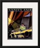 Vanity Fair Cover - October 1924 Framed Giclee Print by William Bolin