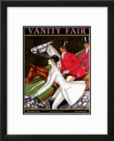 Vanity Fair Cover - November 1924 Framed Giclee Print by Joseph B. Platt