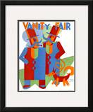 Vanity Fair Cover - March 1931 Framed Giclee Print by  Depero