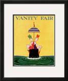 Vanity Fair Cover - February 1916 Framed Giclee Print by A. H. Fish