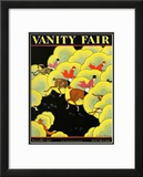 Vanity Fair Cover - November 1927 Framed Giclee Print by Zoan Carnes