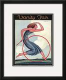 Vanity Fair Cover - September 1926 Framed Giclee Print by Pierre L. Rigal