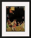 Vanity Fair Cover - March 1915 Framed Giclee Print by  The Reeses