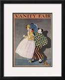 Vanity Fair Cover - September 1914 Framed Giclee Print by  Rabajoi