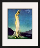Vanity Fair Cover - March 1917 Framed Giclee Print by Warren Davis