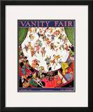 Vanity Fair Cover - November 1923 Framed Giclee Print by Tony Sarg
